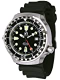 XL - 1000m - Automatic movement with 24h function -diver watch from Germany Tauchmeister with sapphire glass and helium velve T0268