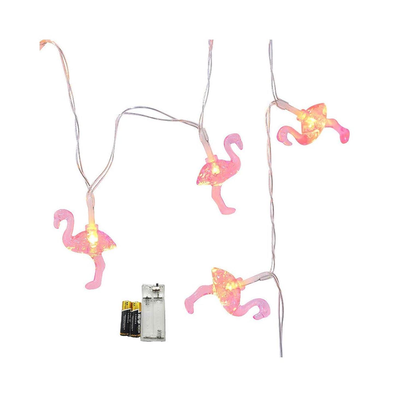 必要競うグリットエドクリスマスランタンフラミンゴスタイル照明屋外景観ライトホリデーストリング結婚式の装飾ライトバッテリーライト (1.5)