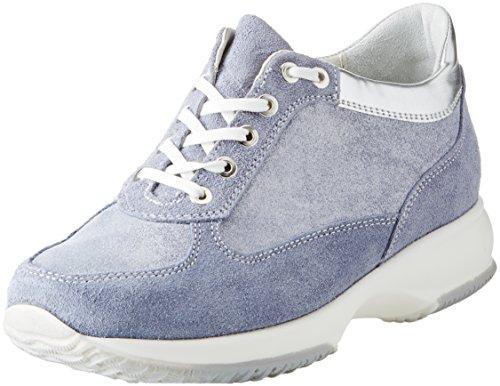 BATA 523306, Sneaker a Collo Alto Donna, Blu, 36 EU