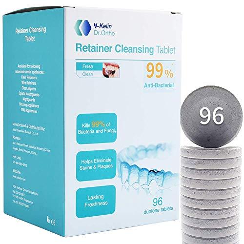 Y-kelin Tableta de limpieza de retenedor ortodóntico Tablet