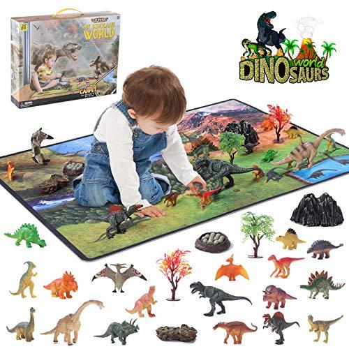 Dinosaurier Spielzeug Set, Figur Dinosaurier mit...