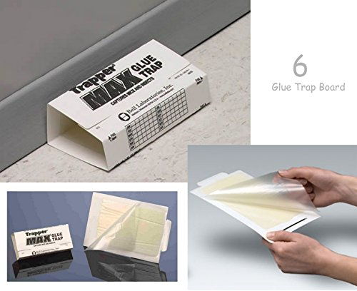 Trapper Max 11 Catcher#039s Maximum 6 Glue Board Trap Toxic w