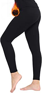 MANCYFIT Thermal Pants for Women Fleece Lined Leggings Underwear Soft Bottoms