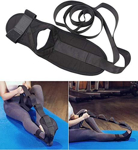 Ligament Stretch Band, Yoga Stretching Strap Rehabilitation Training Belt, No Deformation-Fracture Resistance for Workout Flexibility Training Dance Gym Rehab Tension (1 Pcs)