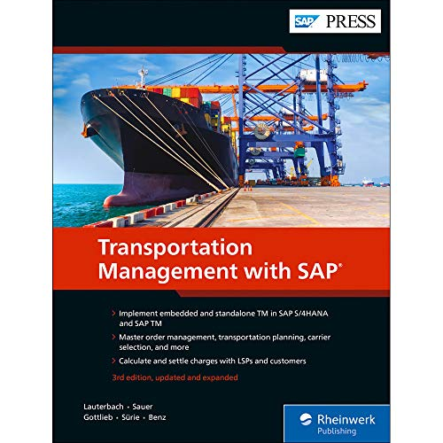 Transportation Management with SAP: Embedded and Standalone TM
