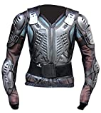 SPIRIT GEAR SCORPION Motorcycle Full Body Armor Jacket spine chest protection CE CERTIFIED. (BLACK, M)