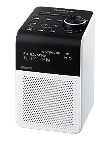Panasonic Radio FM / AM / FM breit / Bluetooth-Unterstützung Weiß RF-200BT-W