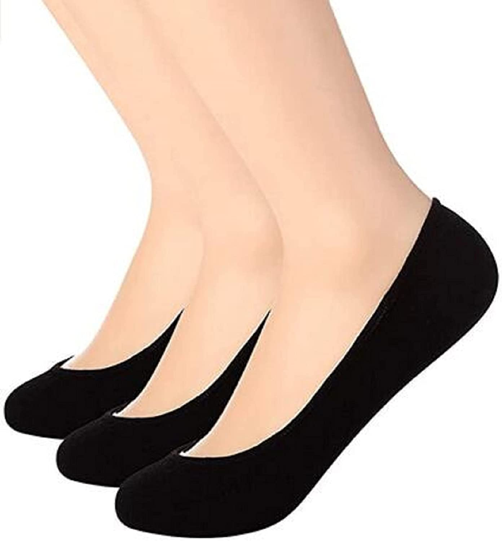 Women Ultra Low Cut Liner Socks Women Non Slip Hidden Invisible for Flats Boat