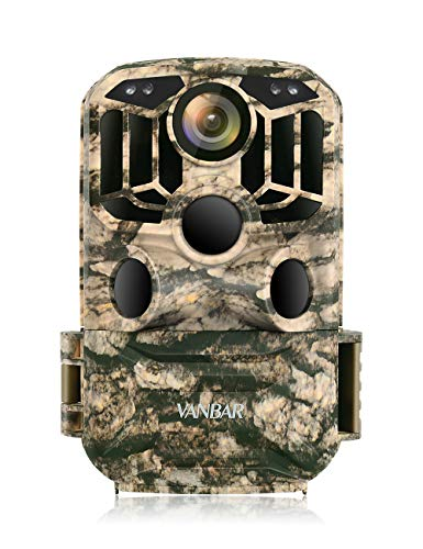 VANBAR Wildlife Camera WiFi 1296P 24MP, Hunting Trail Camera with Night Vision Motion...