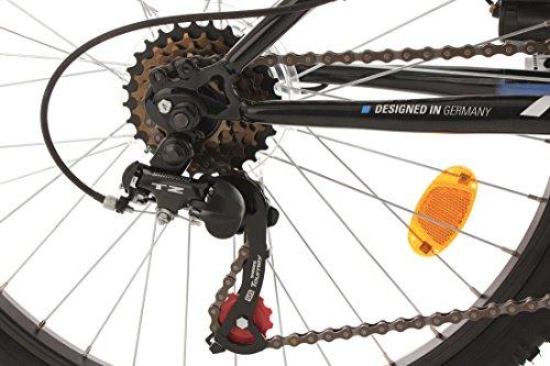 KS Cycling Jungen Fahrrad Kinderfahrrad Fully Zodiac, Schwarz, 24, 631K - 3