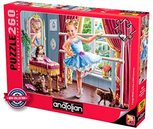 Anatolian Puzzle - Little Ballet Dancer - 260 Piece Jigsaw Puzzle #3333, Multicolor