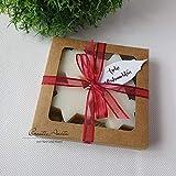 Geschenkset Seifensterne - Natur - Weihnachtsseife, Weihnachtsgeschenk - Florex Schafmilchseife