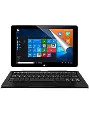 ALLDOCUBE iwork10 Pro 2-in-1タブレットPC(キーボード付)、10.1インチ1920 x1200 IPSスクリーン、Windows 10+Android 5.1、Intel AtomクアッドコアCPU、4GB RAM、64GB ROM、USBタイプ-C、HDMI出力、ブラック