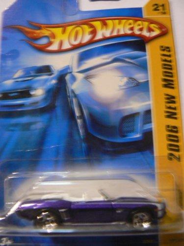 Hot Wheels 2006 New Models '69 Camaro, Caarmaro Misprint, Rare