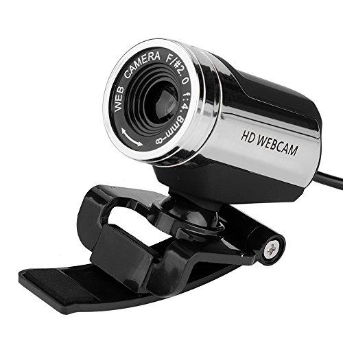 Richer R HD Webcam 1080P HD USB PC Webcam Netzwerk Computer Web CamUSB 20 Plug and Play Webkamera Horizontal 360 Drehung Netzwerkkamera mit Mikrofon fur PC Laptops und Desktop