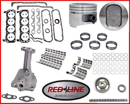 Engine Rebuild Overhaul Kit Fits: 1994-1997 Ford 351 351W 5.8L OHV V8 16V Windsor Bronco