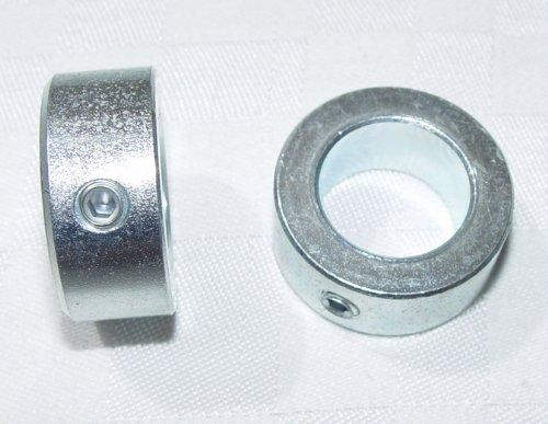 2 x Stellringe für 20mm Achse/Welle Verzinkt DIN705 A