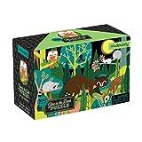 MUDPUPPY MP-355402 - Puzle fluorescente de 100 piezas de animales del bosque