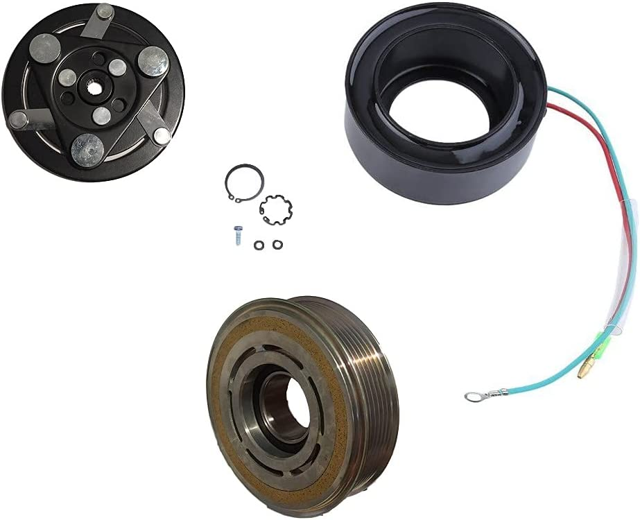 CoolTech AC Compressor Shipping included Clutch KIT Coil Pulley Max 63% OFF Ho 2012-2015 FITS: