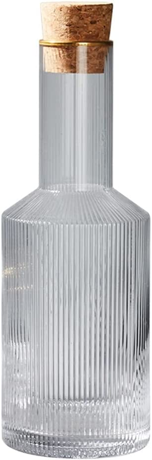 Glass Pitcher Japanese Style Striped Water Tea Sun Max shipfree 50% OFF Jar La Bottle