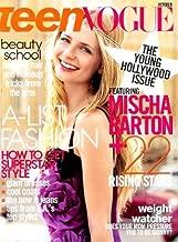 Teen Vogue - October 2007: Mischa Barton Cover!