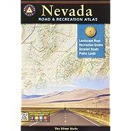 Nevada Road & Recreation Atlas: 6th Edition (Benchmark Road & Recreation Atlas)