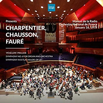 INA Presents: Charpentier, Chausson, Fauré by Orchestre National de France at the Maison de la Radio (Recorded 16th January 1979)