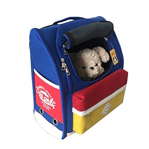 JSDDE ペットバッグ 犬用 キャリーバッグ 軽い リュック 10kgまで 携帯しやすい かわいい お出かけ...