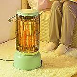 HMM Calefactor Eléctrico Portátil, Calefactor por Radiación Infrarroja Pequeno, Calentador De Terraza Portátil para Acampar, 0-2000w, Impermeable/con Rejilla De Secado