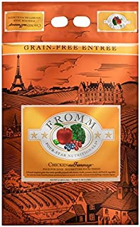 Fromm Four-Star Dry Dog Food, 12 Pounds, Chicken au Frommage, Grain-Free Entree Made in the USA
