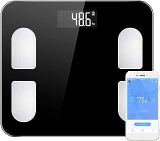 Básculas Digitales Nueva Báscula Digital De Peso Corporal Smart Balance Connect Báscula De Pesaje Corporal Mi Composición De Cuerpo Báscula Porcentaje De Grasa Bluetooth App Negro