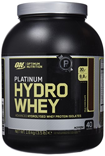 Optimum Nutrition Suplemento Dietético en Polvo 'Platinum HydroWhey Proteína', Sabor Chocolate - 1600 g