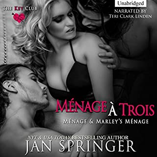 Menage a Trois audiobook cover art