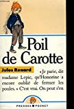 Poil De Carotte - Piece En 1 Acte - Hodder Education - 01/12/1988