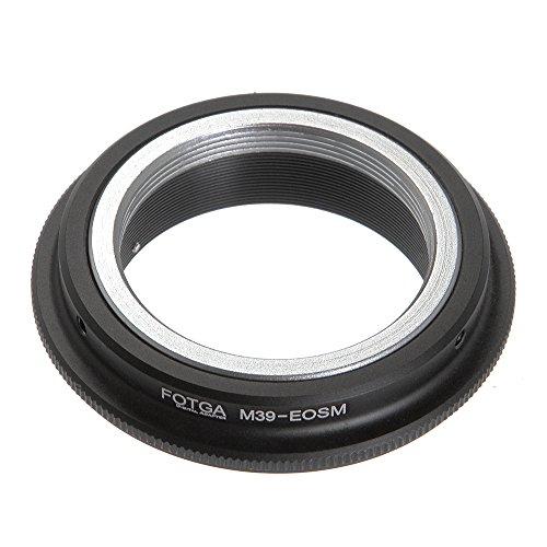 Fotga Adaptador de Anillo para Leica L39M39Lente a Canon EOS M EF-M Mirrorless cámara