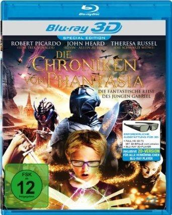 Die Chroniken von Phantasia / The Legends of Nethiah 3D ( ) (3D & 2D) (Blu-Ray)