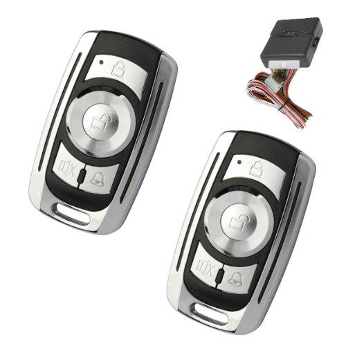 Akhan 100F05 - Funkfernbedienung für vorhandene original Zentralverriegelung, mit 2 Handsender geeignet für pneumatische, elektrische u. nachträglich eingebaute Zentralverriegelungen