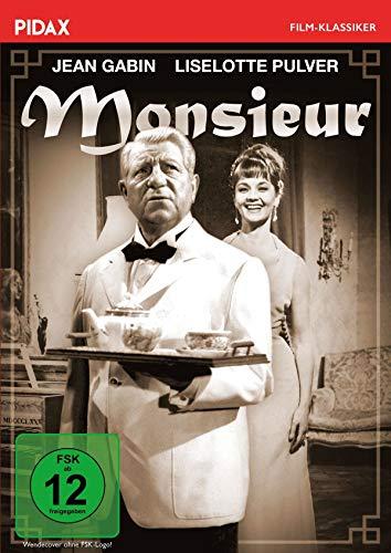 Monsieur / Herrliche Komödie mit den Publikumslieblingen Jean Gabin und Liselotte Pulver (Pidax Film-Klassiker)