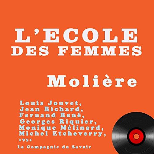 L'école des femmes audiobook cover art