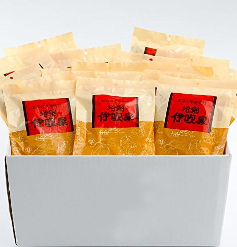 目指す生産性カポック浴剤 伊吹泉 ~薬草の家庭風呂~ 16袋(32包)セット