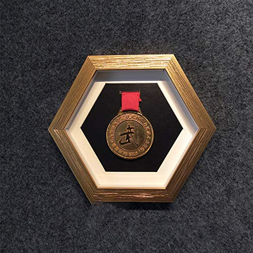 ABCSS Medal Display Stand,marathon Frame Gold Medal Medal Commemorative Medal Storage Box 3D,suitable For Collecting Military Medals And Honor Badges.
