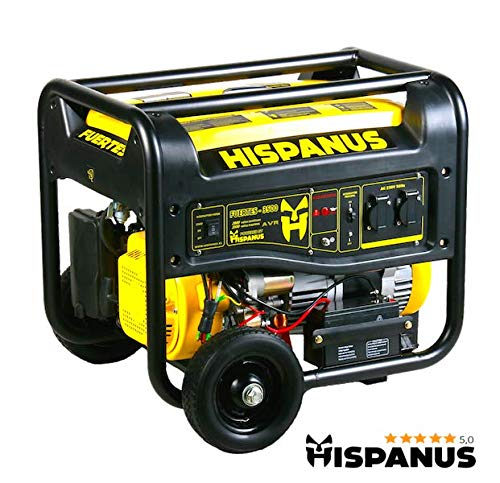 GENERADOR ELECTRICO HISPANUS FUERTES 3500WP
