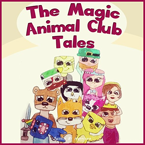 The Magic Animal Club Tales audiobook cover art