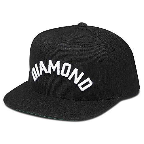 Diamond Supply Co. Arch Snapback Black