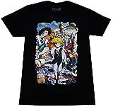 Great Eastern Entertainment The Seven Deadly Sins Anime Men's Meliodas Key Visual Black T-Shirt, Medium, Black