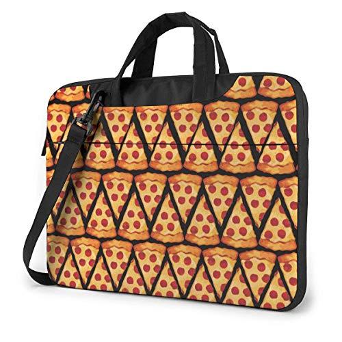 15.6 inch Laptop Shoulder Briefcase Messenger Beanie Pizza Tablet Bussiness Carrying Handbag Case Sleeve