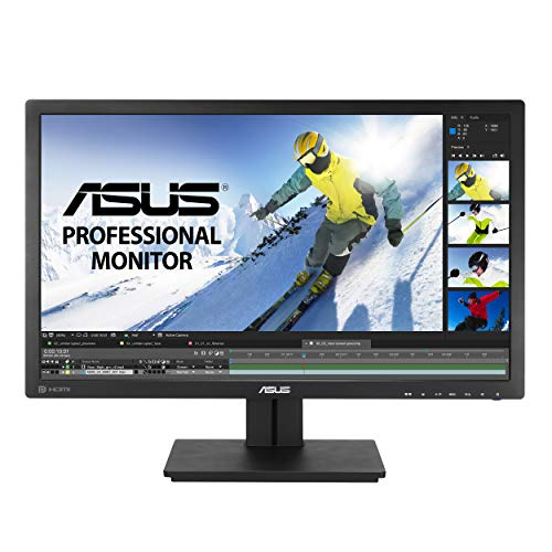 ASUS PB278Q 27' WQHD 2560x1440 IPS DisplayPort HDMI DVI Eye Care...