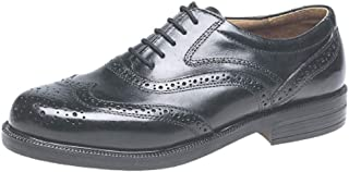 Scimitar Quality Leather Wing Cap Brogue Oxford Shoes Size 6-14UK