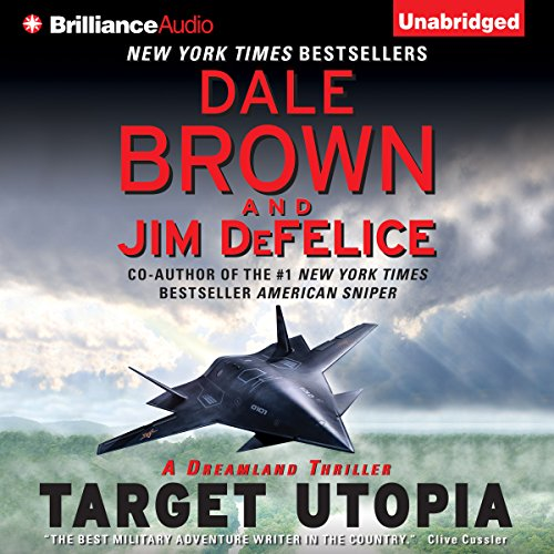 Target Utopia audiobook cover art