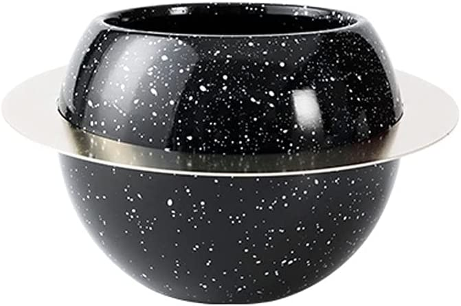 Flower 70% OFF Outlet Plant Pot Cute Iron Planet Planting Ceramic Su Discount is also underway